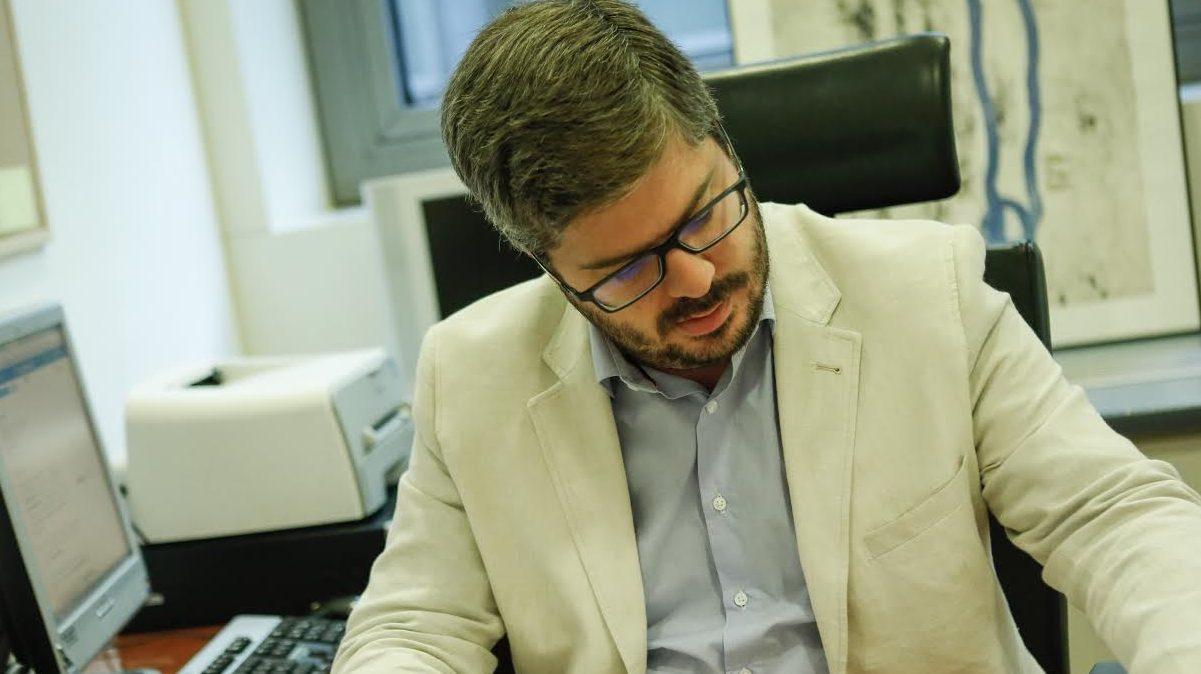 El ex secretario de Organización de Ciudadanos Fran Hervías.