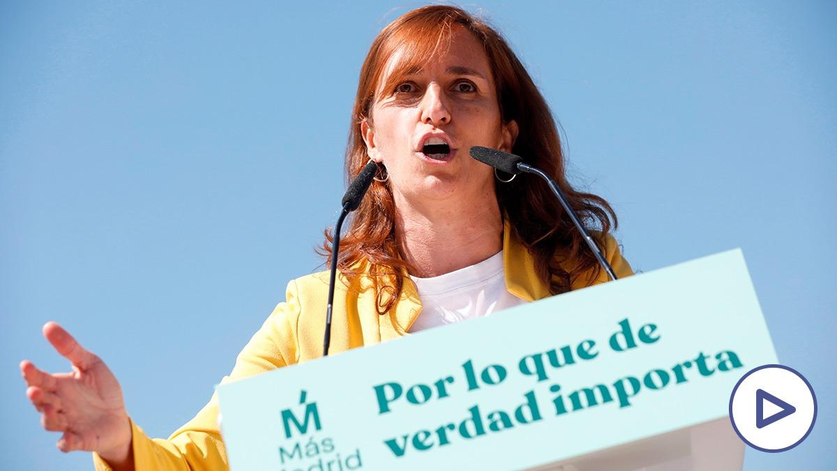 Elecciones 4M: Mónica García apuesta por eliminar las privatizaciones y subir los impuestos