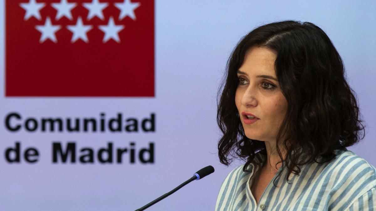 Isabel Díaz Ayuso acusa a Pedro Sánchez de no aceptar «el resultado de las urnas» con su criminalización de Madrid.