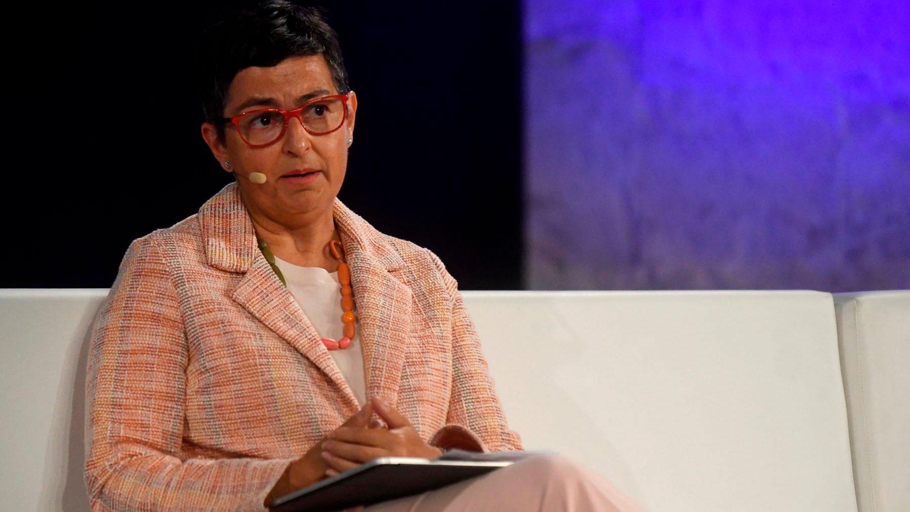 La ex ministra de Exteriores Arancha González Laya. Foto: EFE