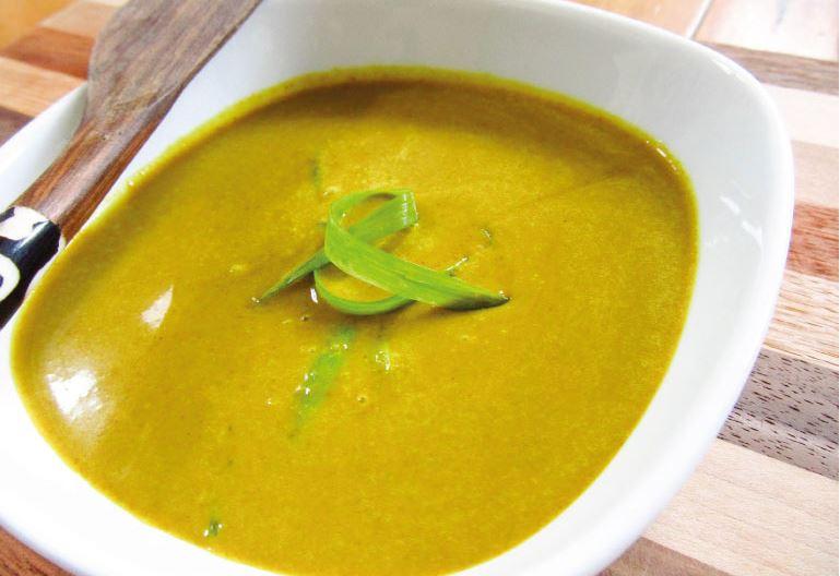 salsa de curry fácil